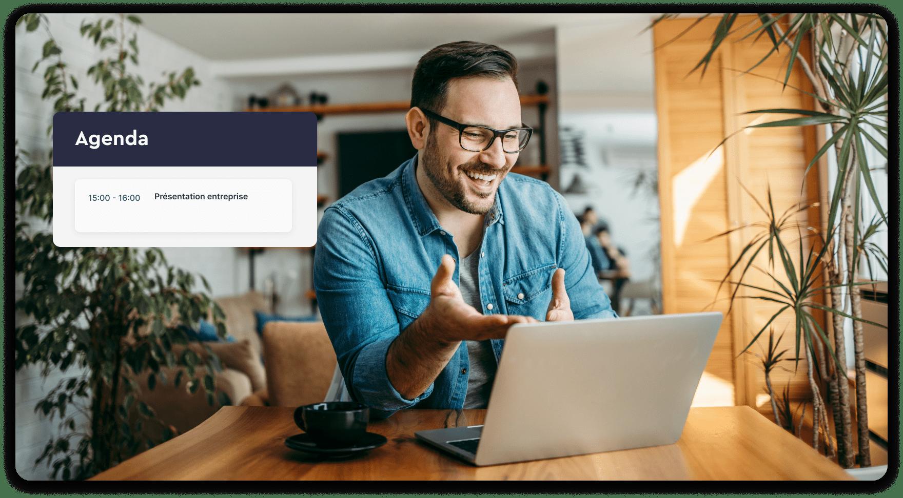 Besoin d'organiser un webinaire ou une présentation d'entreprise