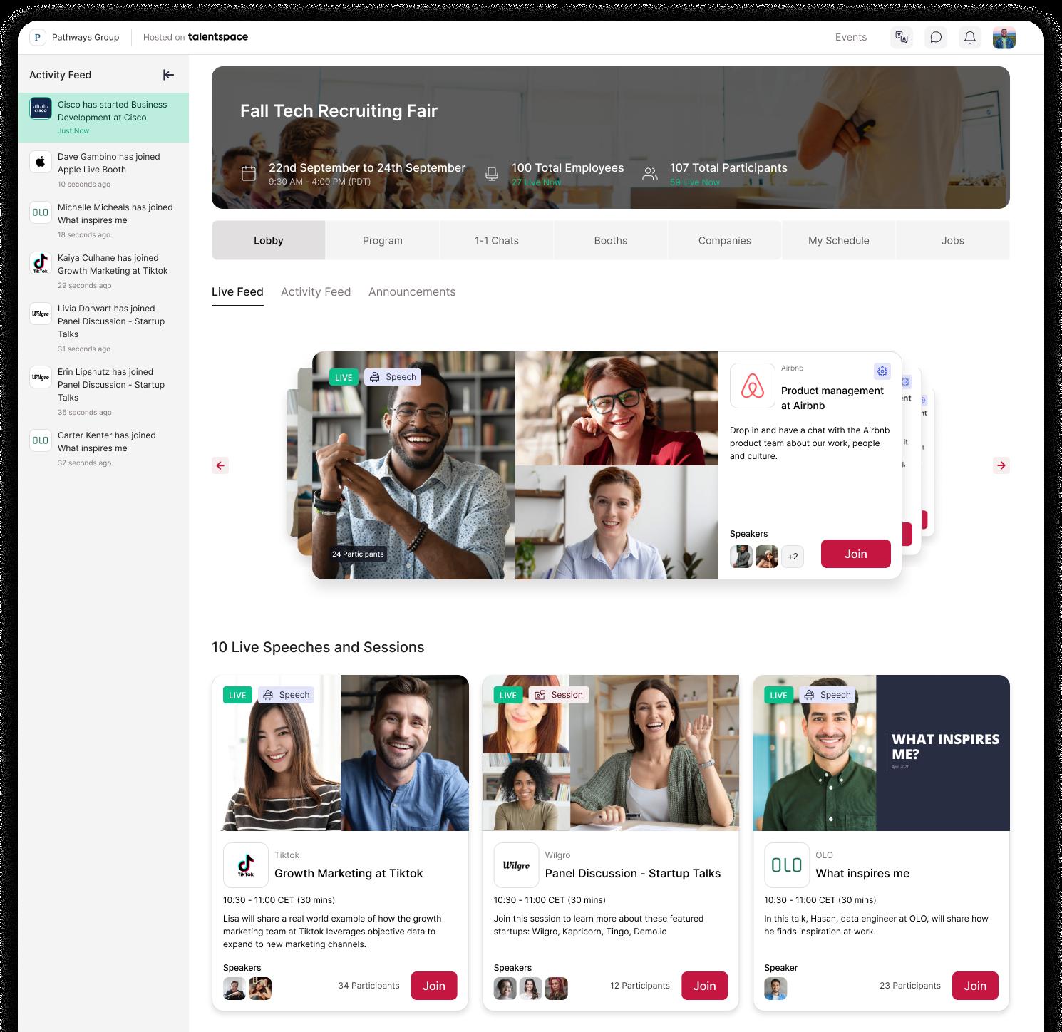 Virtual Hiring Events for Agencies