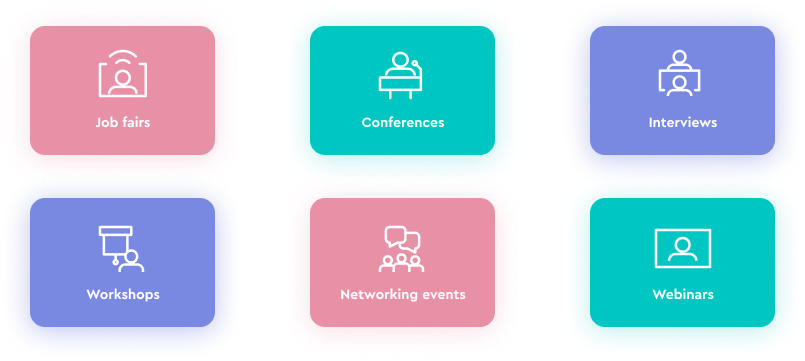 event types badges agency