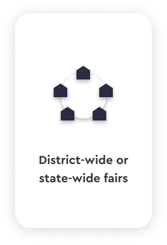 District-wide and state-wide career fairs talentspace use case