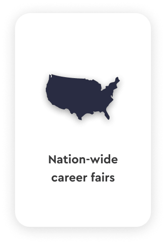 Nation wide career fairs talentspace use case